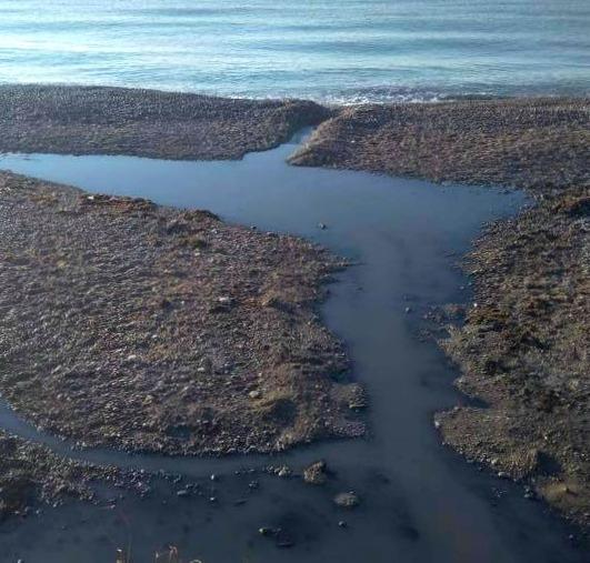 kanalizacija uhodit v more