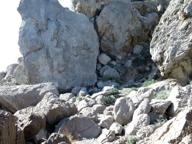 skala Monah v Simeize