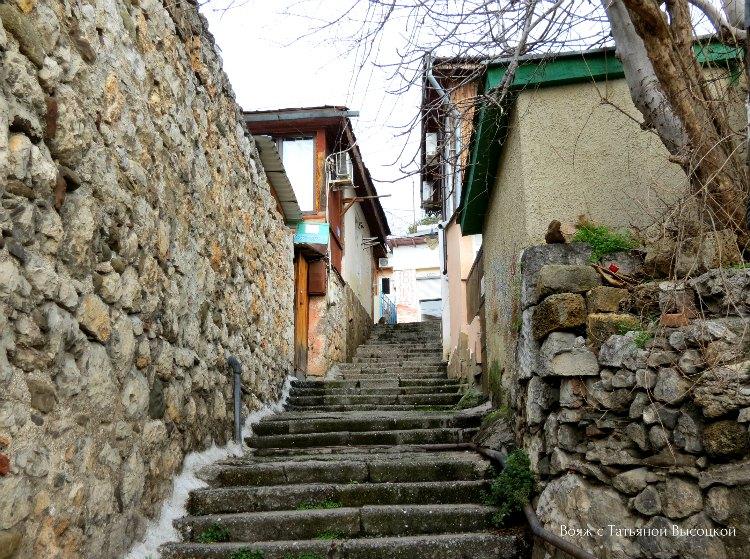 ulica v Gurzufe