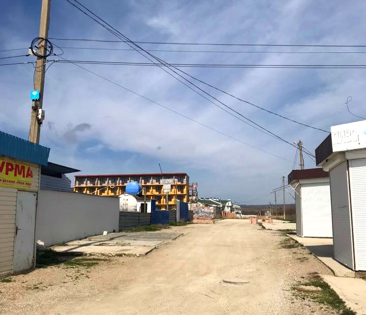 ulica v Koktebele