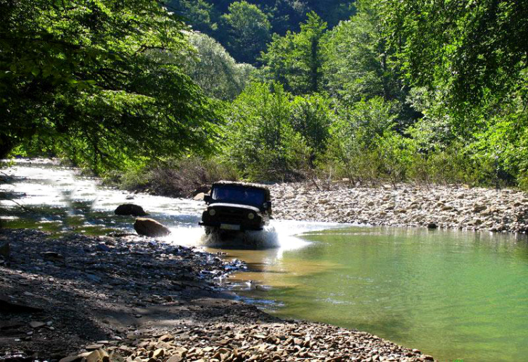 отзыв о джип туре на Пшадские водопады