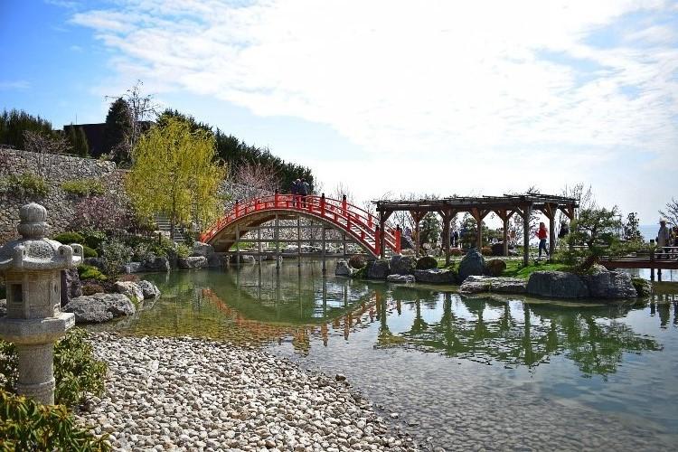 экскурсия в Японский сад «Шесть чувств»